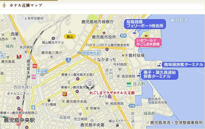 ホテル近隣マップ
